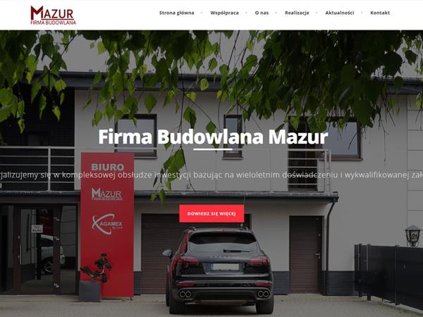 Firma Budowlana Mazur
