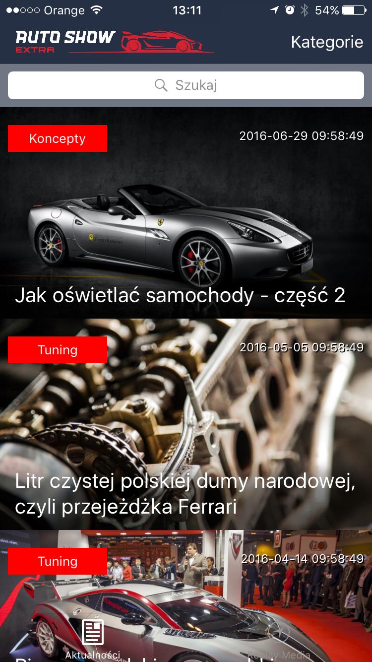 Aplikacja mobilna iOS
